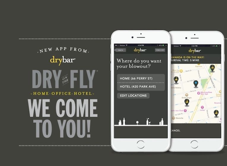 Dry On The Fly app screenshots