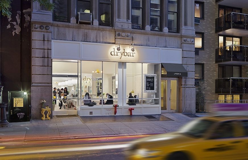 The exterior of Drybar In New York City