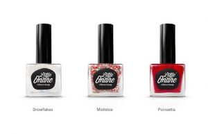 The Little Ondine winter collection nail colors