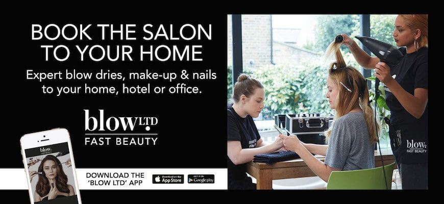 blow LTD helps women book beauty and hair salon services to their homes