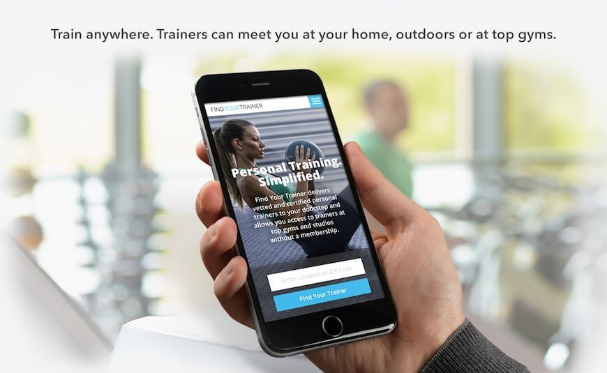 Findyourtrainer-mobile-view