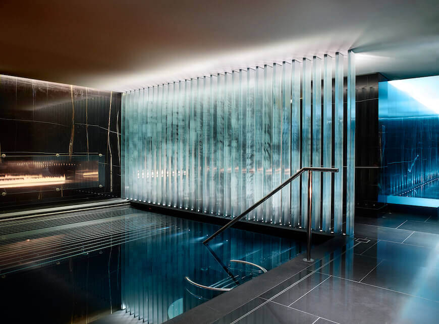 The Vitality Pool on the ESPA Life Thermal Floor