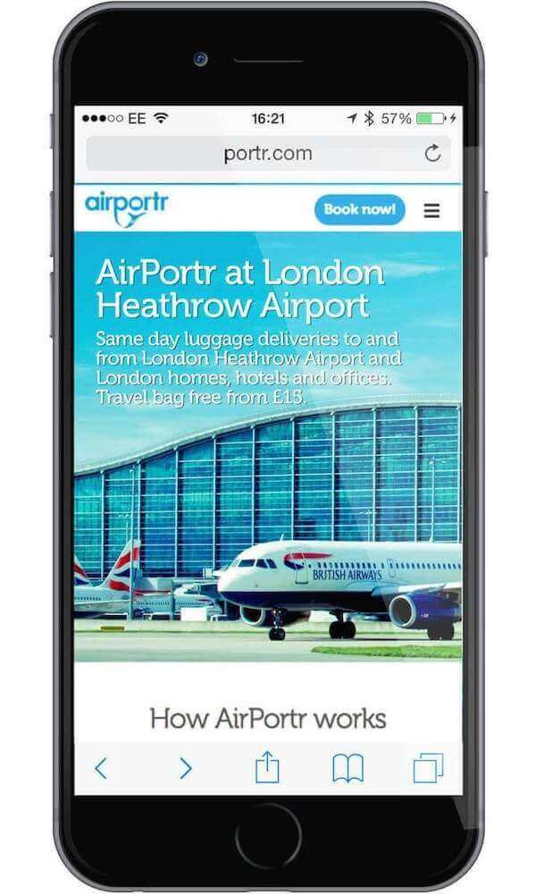 Airportr Iphone Heathrow